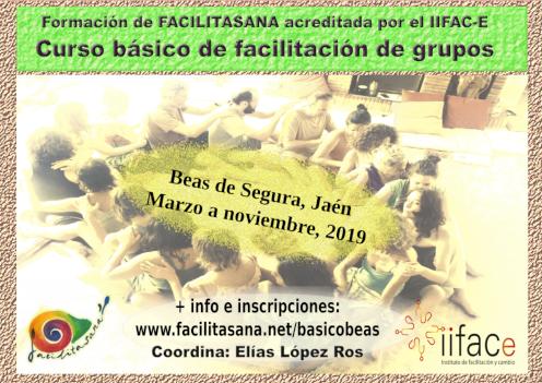 Curso básico de facilitación de grupos. Beas del Segura, 2019